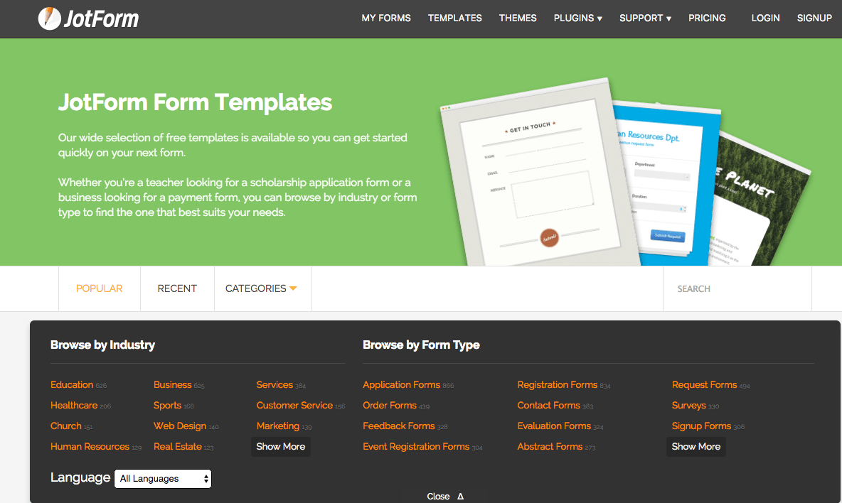 Evaluation Forms  Form Templates  JotForm