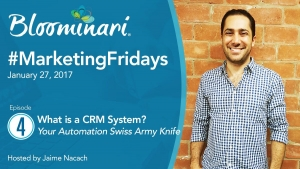 What is a CRM? [Marketing Automation Swiss Army Knife ]. Ep 4