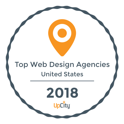 bloominari top web design agency 2018 award
