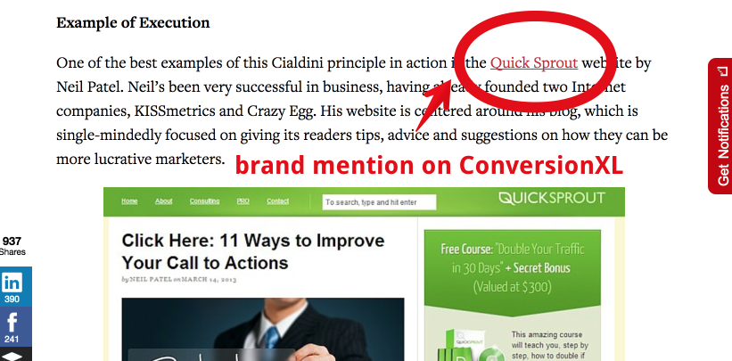 Brand Mention Conversion