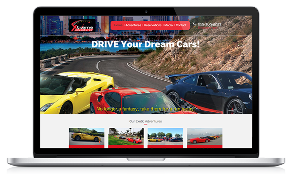Xtreme Adventures Success Story - Bloominari's San Diego Client for Web Design