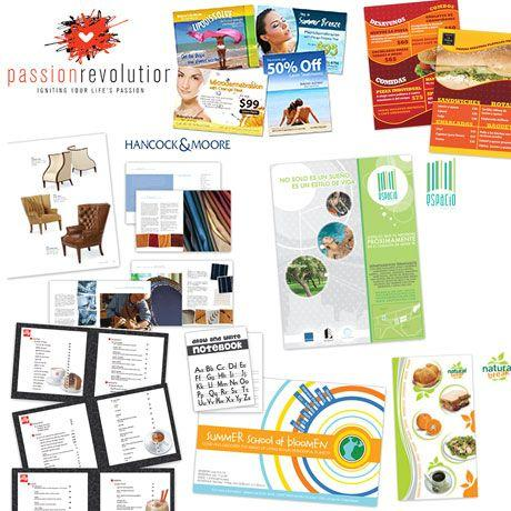 Design creative and modern marketing materials