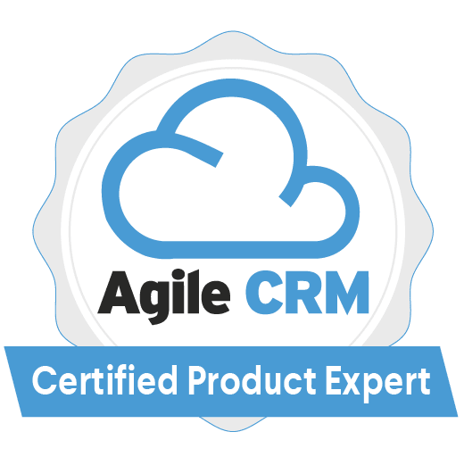 Official Agile CRM Certified Partner Badge