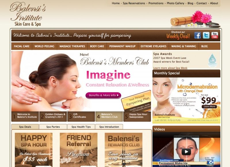 Balensi's Institute - Skin Care & Spa
