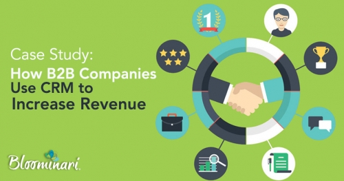 Case Study: How 5 B2B Companies Use a CRM to Increase Revenue by 839%