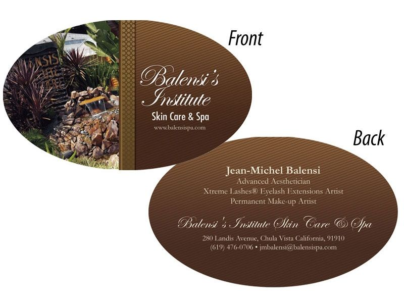 Balensi Spa - Business Cards 1