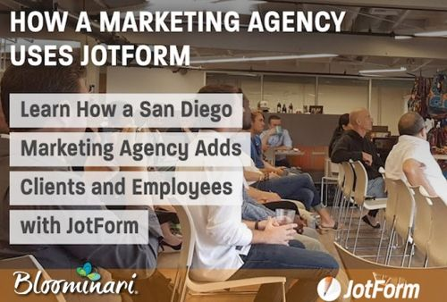 Learn How a San Diego Marketing Agency Adds Clients and Employees with JotForm