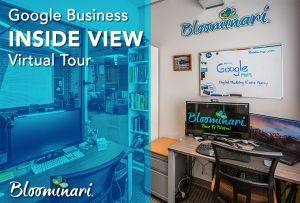 Google Business 360° virtual tour of our marketing agency