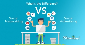Social Networking Vs Social Advertising: What's the Difference?